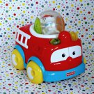 Fisher Price Roll-a-Rounds Action Firetruck