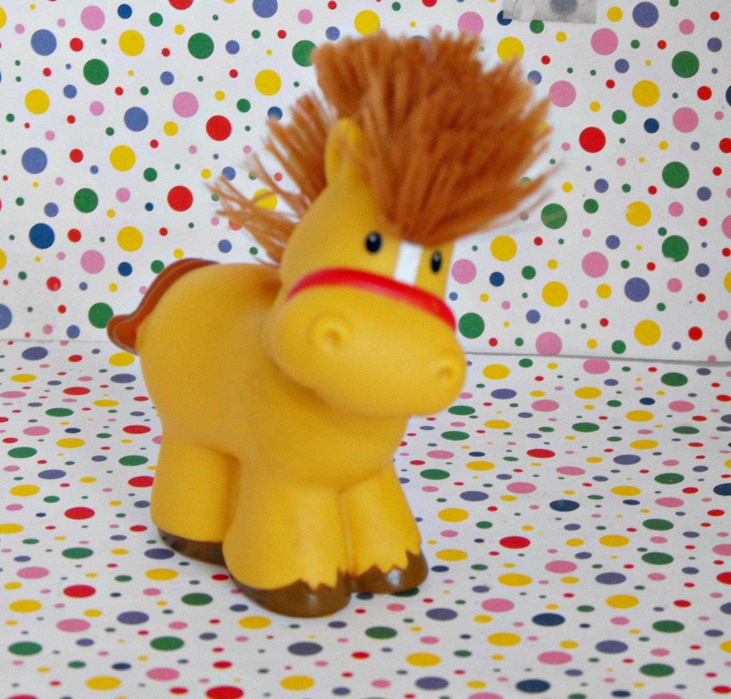 2*SOLD~Fisher Price Little People Farm Touch and Feel Horse Part
