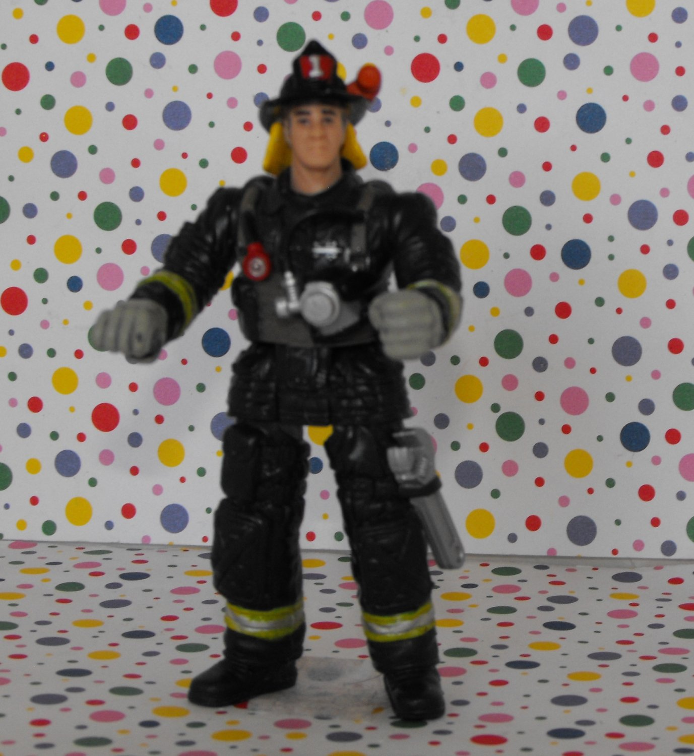 Char Mei Firefighter Professionals Occupational Figure Doll