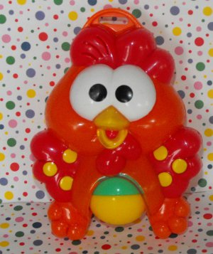 Fisher Price Kick �n Crawl Barn Gym Toy Rooster Part
