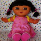 Fisher Price Sleepy Dreams Dora Bilingual Doll