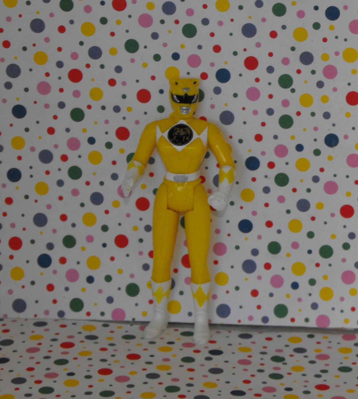 Saban Yellow Power Ranger Figure