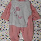 Zapf Creations Baby Annabell Clothes Pink Sheep Romper