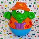 Playskool Weebles Weegoaway Camper Turtle Fisherman Part