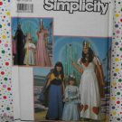 Princess, Queen, Fairytale Costume Pattern Simplicity 9901