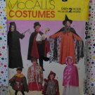 Witch, Magician, Riding Hood, Robin Hood, Reaper Costume Pattern McCall's 2854