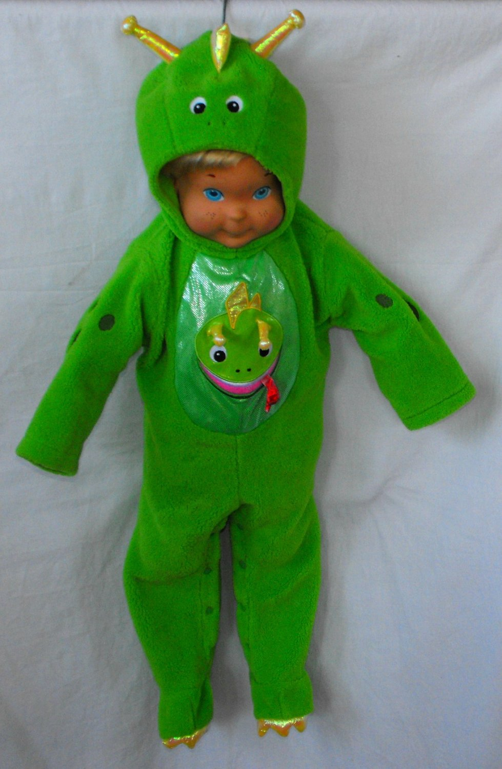 Baby Einstein Bard the Dragon Infant Costume Size 12-18 Months