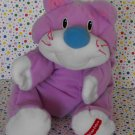 Vintage Fisher Price Purple Rumple Kitty Cat