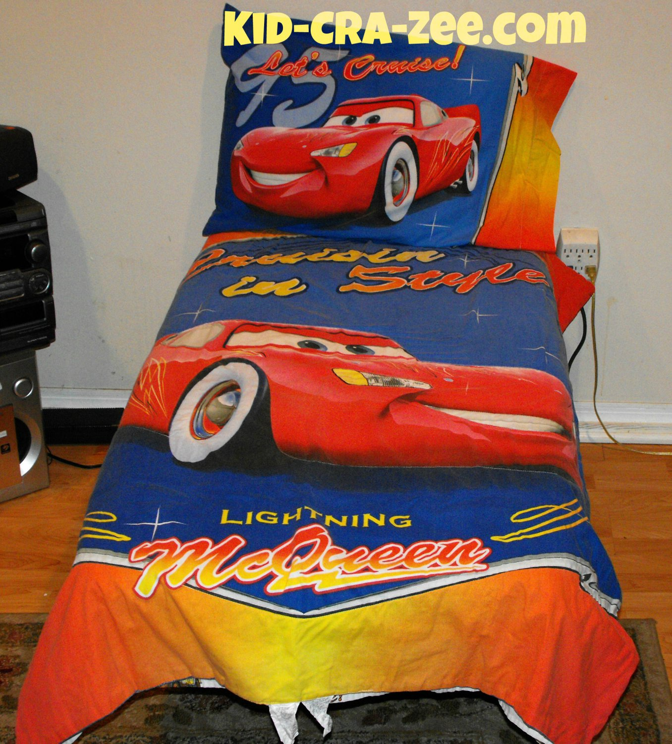disney pixar cars cruisin 39 in style crib toddler bedding 4 peice