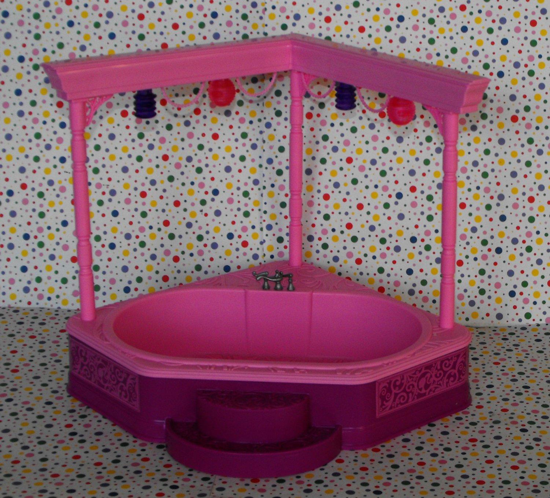 12 Sold Barbie 3 Story Dream House Dollhouse Spa Jacuzzi Tub Part