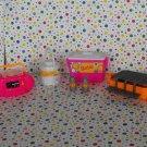 Barbie Dollhouse Beach Picnic Pool Playset Parts Lot