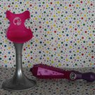 Barbie Glitter Playset Hair Style Salon Chair and Iron Part