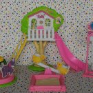 Barbie Kelly Playground Playset Dollhouse Furniture