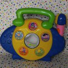 Fisher-Price Backyardigans Sing-Along Music Maker Radio