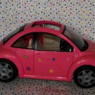 Barbie Pink VW Bug Volkswagon Beetle Barbie Car Dollhouse