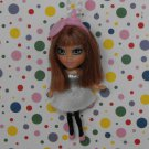 Barbie Mini B Keychain Doll #521 Blythe Style Miniature