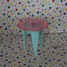 Barbie Talking Townhouse End Table Part Dollhouse Furniture