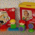 Playskool Clipos~Toddler Bristle Blocks