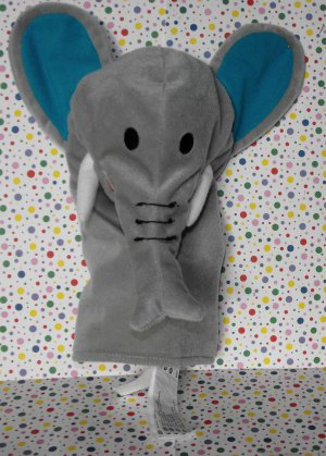 Ikea Elephant Hand Puppet Klappar Vild