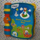 Vtech Rhyme and Discover Nursery Rhyme Book  Baby Learning Toy