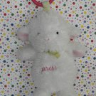 Carter's Child of Mine Plush Musical Lights Pink White Lamb Ring Toy