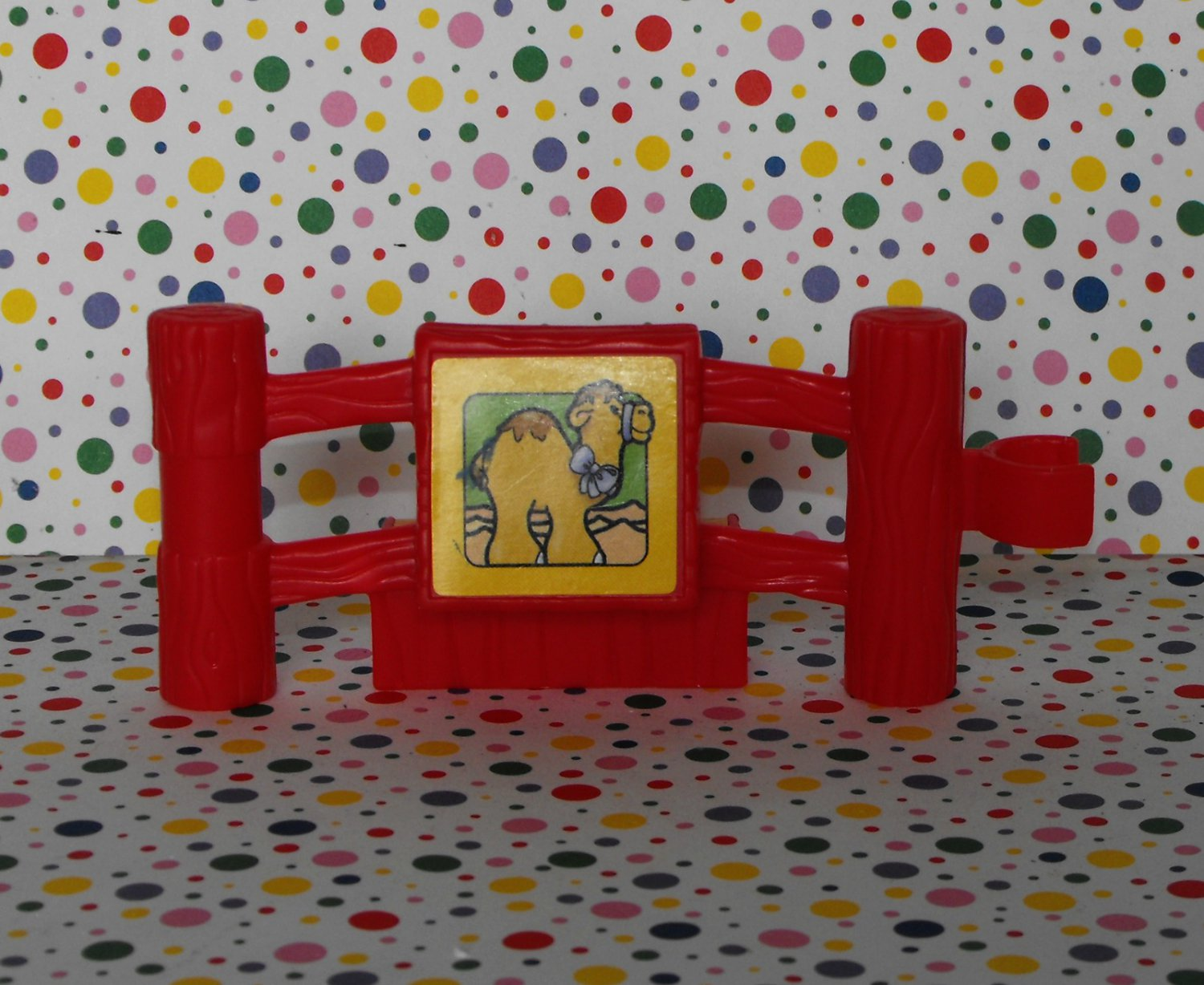 Fisher Price Little People Baby Zoo Animals Fence Part~ Camel