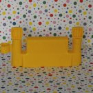 Fisher Price Little People Yellow Construction Fence Part