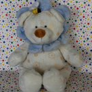 Ty Beanie Pluffies Flower Blossom Teddy Bear Tylux Baby Toy Plush Lovey