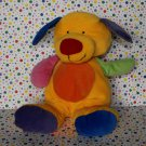 Baby Ty Beanie Puppy Dog Primary Colors Tylux Pluffy Toy  Lovey