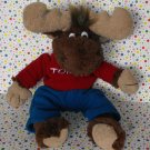 Tommy the Moose Brown Moose Lodge Toy Lovie