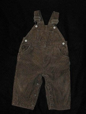 *10/13*SOLD~Carter's  Baby Boy 9-12 Months Corduroy Overalls Pants