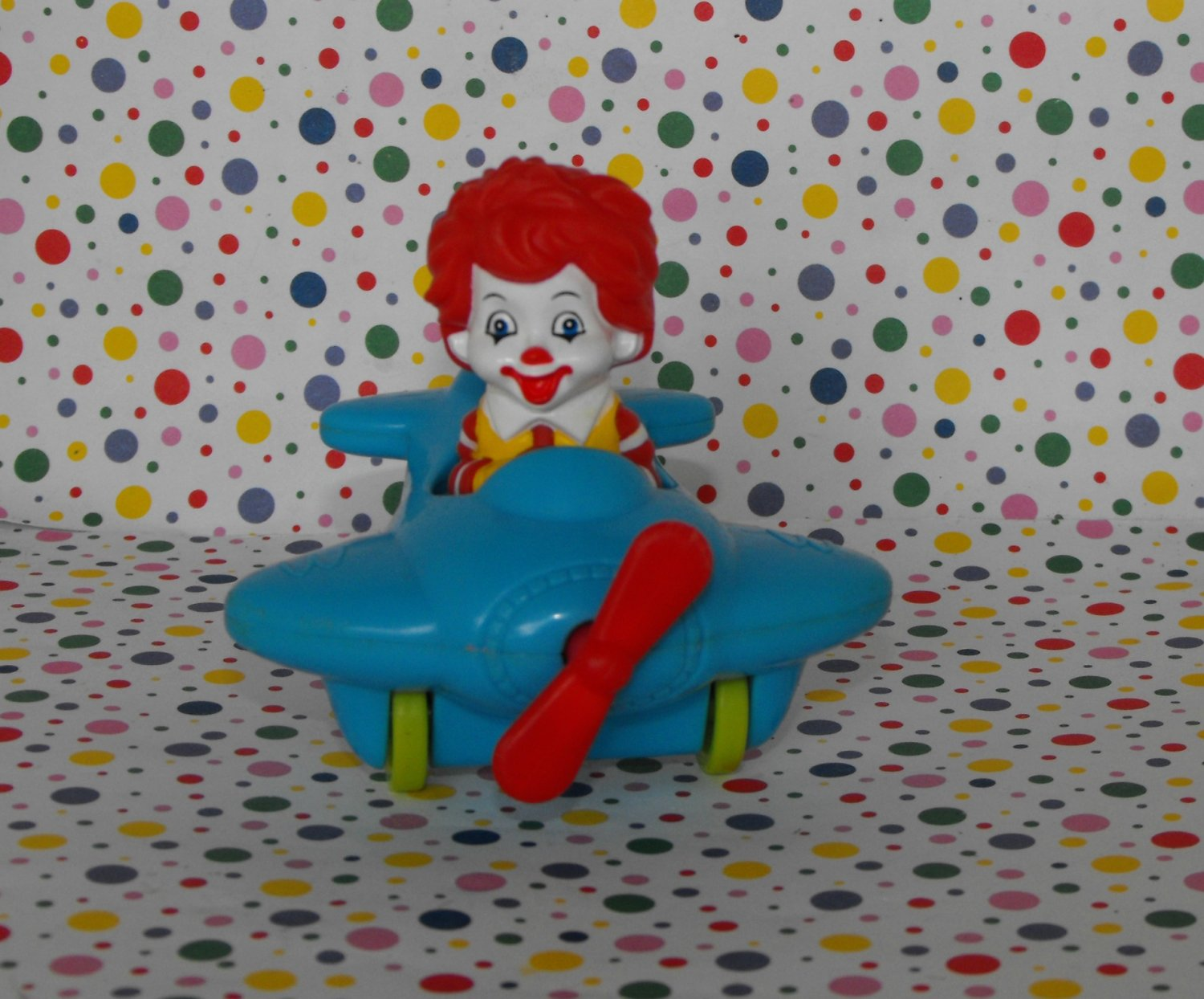 McDonald's Ronald McDonald Airplane Under 3 Happy Meal Toy