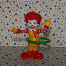 McDonald's Ronald McDonald Hula Hoop Ronald Under 3 Happy Meal Toy