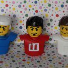 McDonald's McDonalds Lego Sports Toy Soccer Hockey Basketball Player