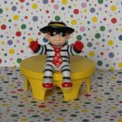 McDonald's Hamburglar Carnival Tricycle Airplane Happy Meal Toy