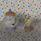 Disney's Beauty and The Beast Mrs Potts and Chip Figurine