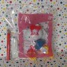 McDonald's Sanrio 30th Anniversary Hello Kitty Bike Pencil Topper
