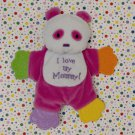 Kids 2 Grow I Love Mommy Pink Panda Teether