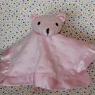 Tadpoles Pink Bear Hearts Minky Security Blanket Lovey