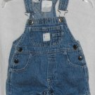 Little Arizona Jean Co. Baby 0-3 Months Romper Shortall Bibs