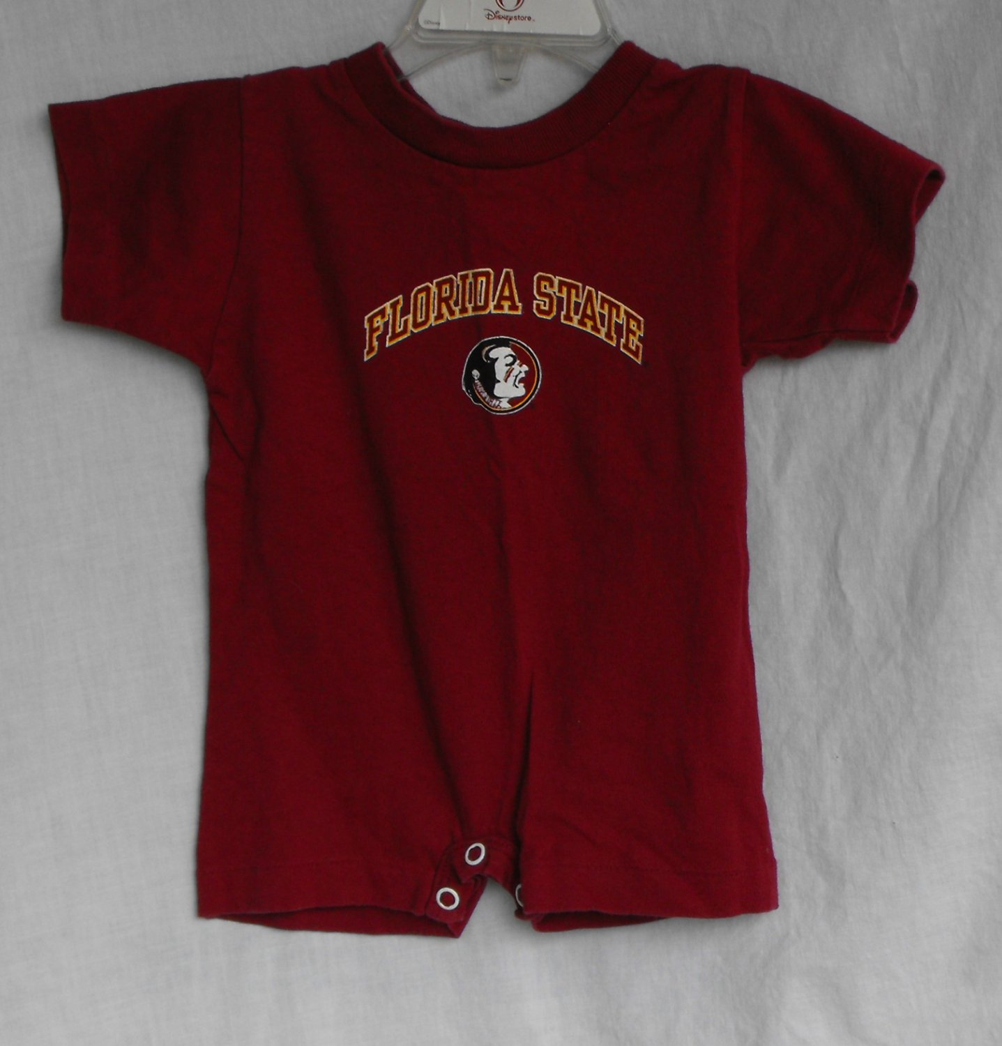 *9/13*SOLD~Florida State Seminoles FSU Baby Boys 6 month 1-peice outfit onesie