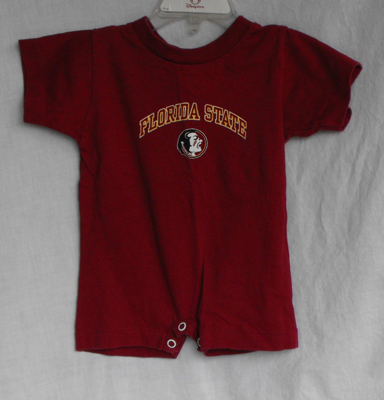 Florida State Seminoles FSU Baby Boys 6 month 1-peice outfit onesie
