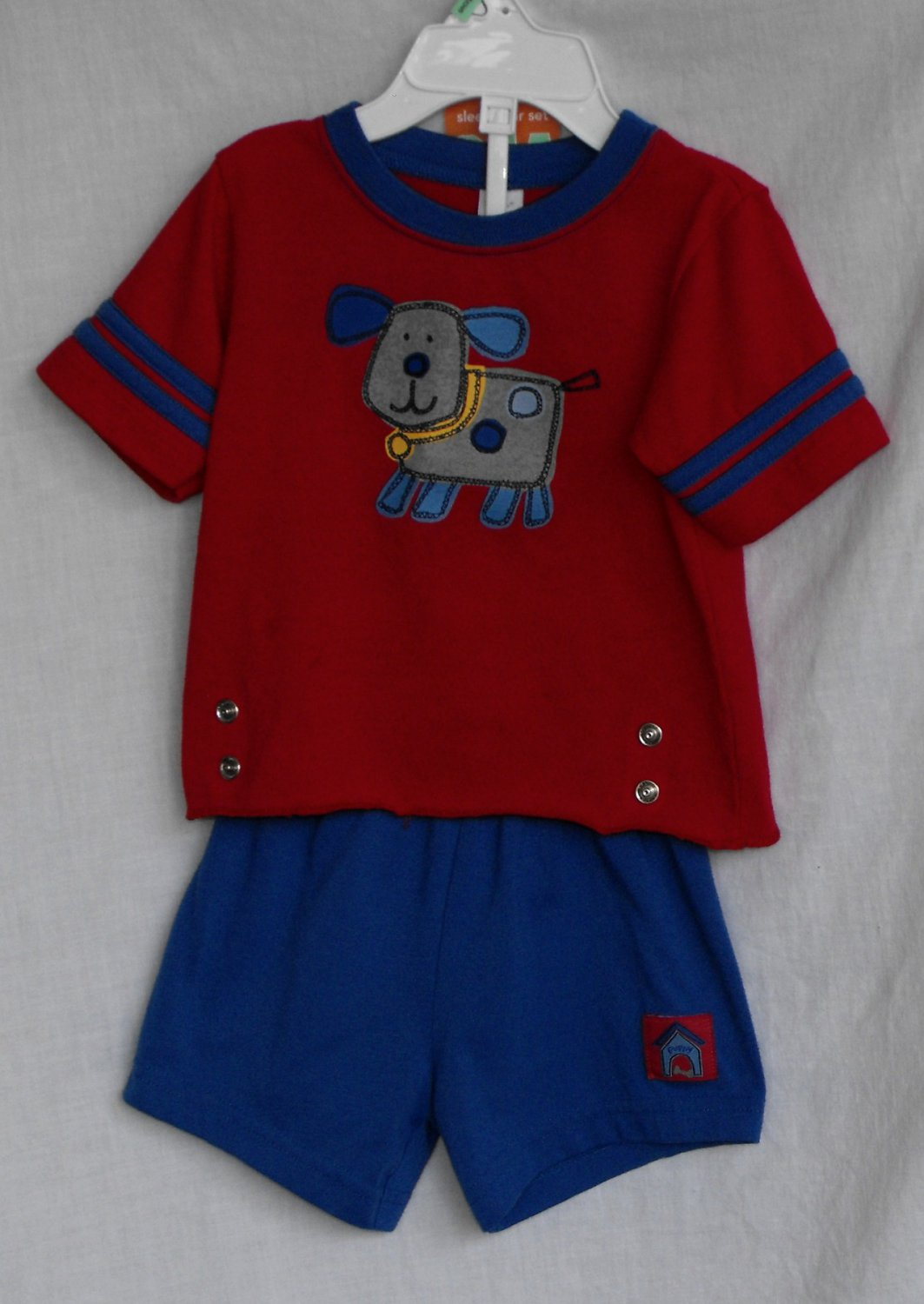Carter's Baby Boys 2-peice 6-12 Month Pajama Shorts