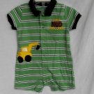 Carter's Baby Boys 12 Months Mud Look Good Construction Romper One Piece Outfit