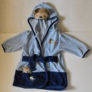 Carter's Baby Boy Blue Monkey Bathrobe