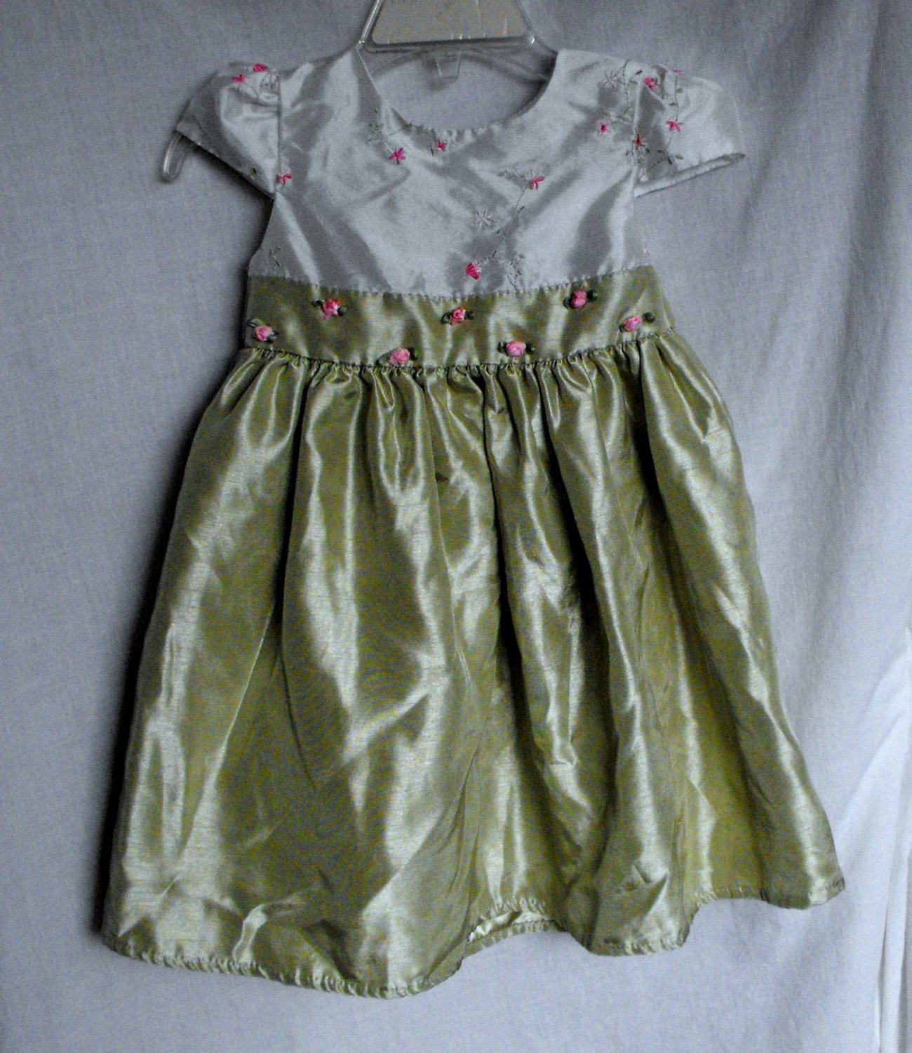 Perfectly Dressed Baby Girl 12 Months Easter Party Flowered Dress