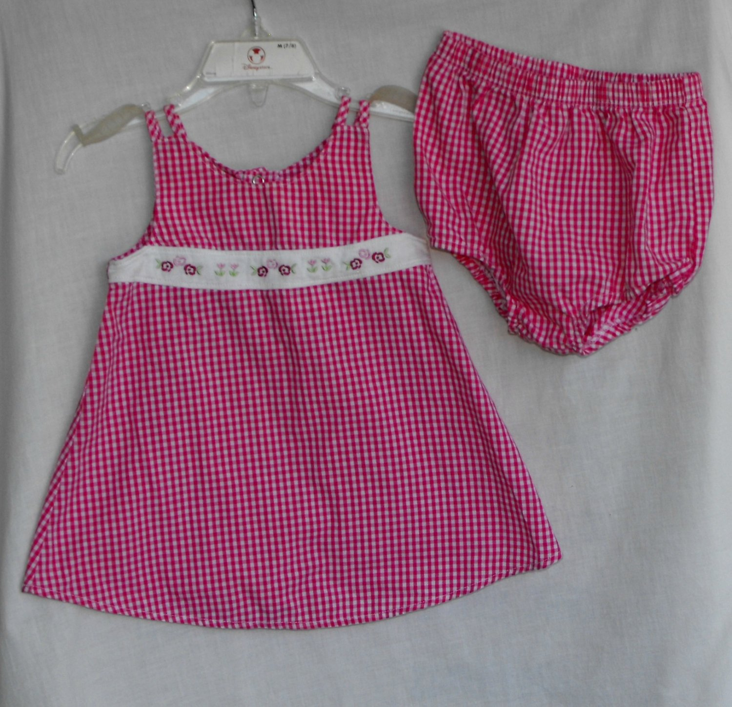 Simply Basic Baby Girl 6 9 month 2 peice Dress and Bloomers