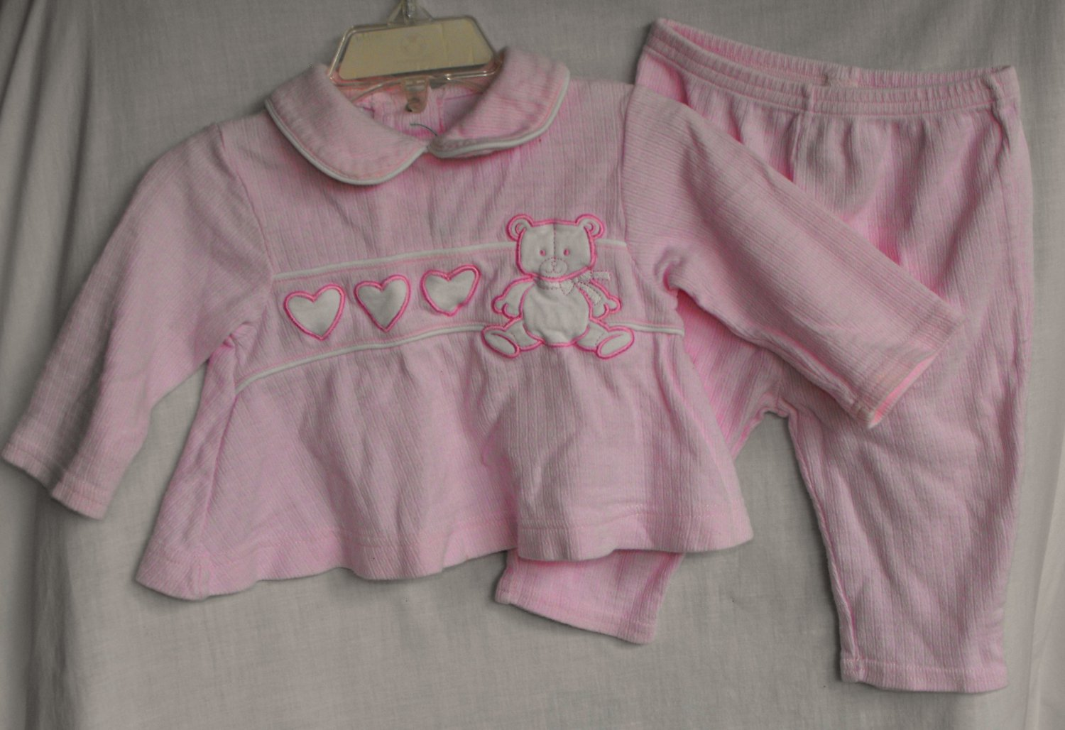 Class Club Baby Girl 3-6 Months 2 Peice Outfit
