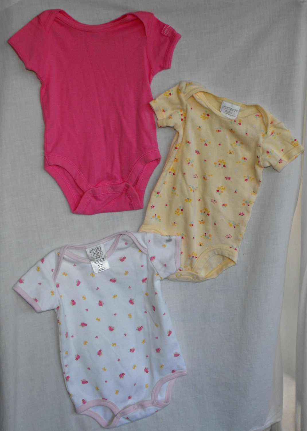 Carter's Old Navy Creeper Bodysuits Onesies Baby Girl 0 3 Month