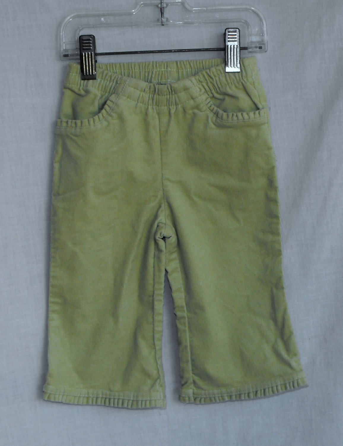 The Children's Place 12 Months Green Corduroy Pants